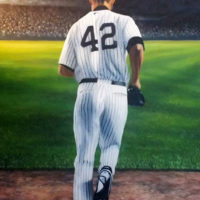 Mo Rivera Oil Painting