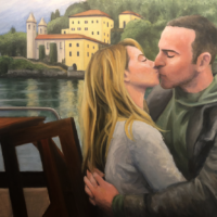 Andrea + Ryan Painting